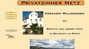 Link zur Homepage der Privatvermietung Jürgen Metz in Braubach