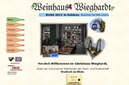 Weinhaus Wieghardt in Braubach am Rhein