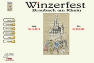 Weblink Winzerfest Braubach am Rhein